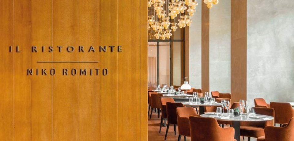 Il Ristorante Niko Romito в отеле Bulgari Hotel Beijing