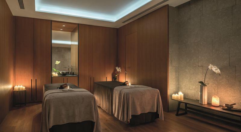 Bulgari Hotel Beijing - spa пространство для парных процедур