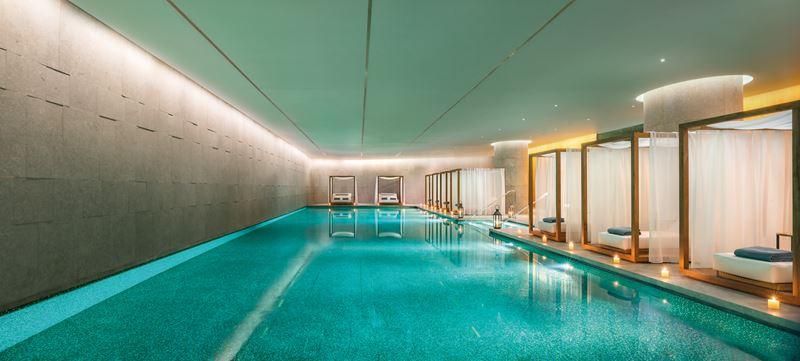 Bulgari Hotel Beijing - зона бассейна спа