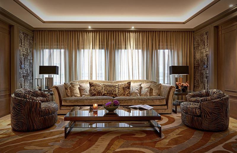 Бутик-отель TwentySeven в Амстердаме - гостиная с мягкой мебелью