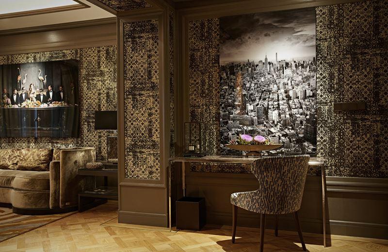 Бутик-отель TwentySeven в Амстердаме - дизайн стен и фотографии