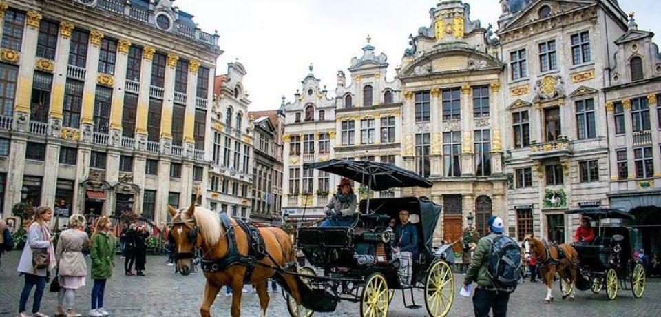 Главные города Бельгии