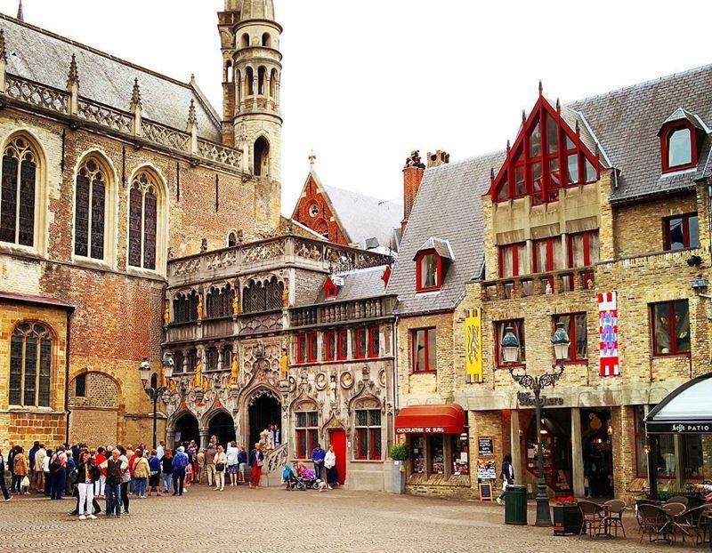 Красивые города Бельгии: архитектура Гента