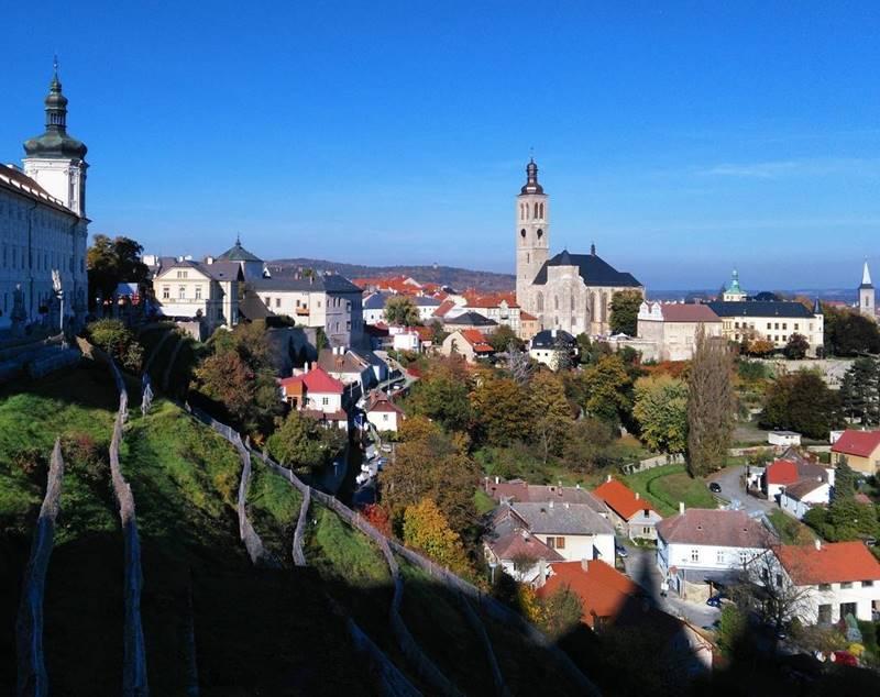 Красивые города Чехии: пейзаж Кутна-Гора