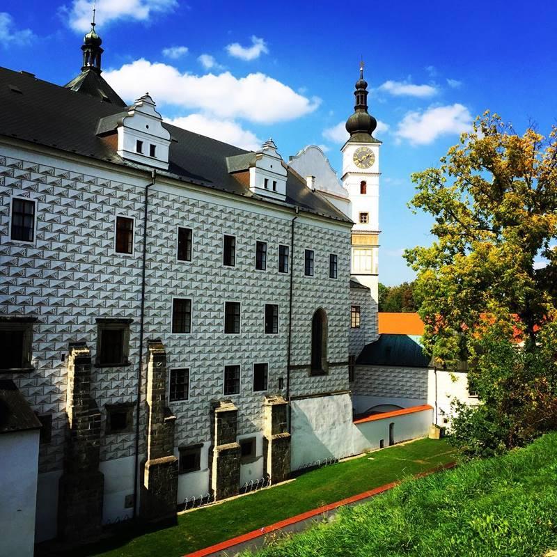 Красивые города Чехии: Пардубицкий замок
