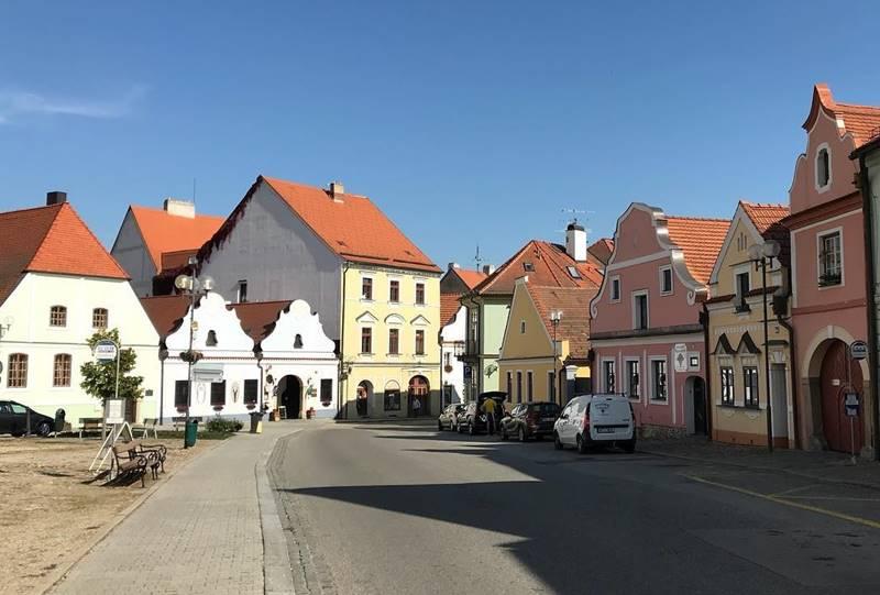 Красивые города Чехии: домики Тршебоня