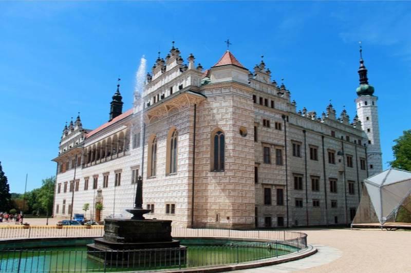 Красивые города Чехии: архитектура замка Литомишль