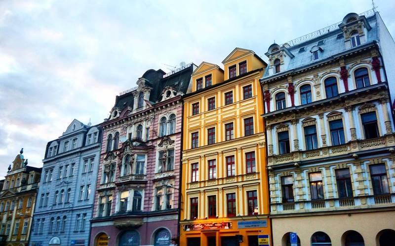 Красивые города Чехии: Либерец - яркая разнообразная архитектура