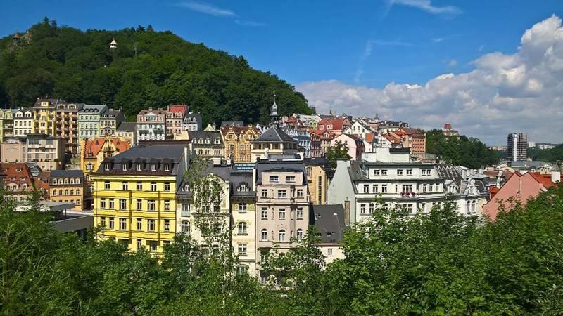 Красивые города Чехии: Карловы Вары - баьнеологический курорт