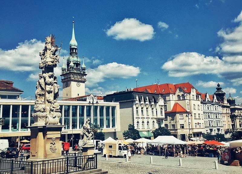 Красивые города Чехии: Брно