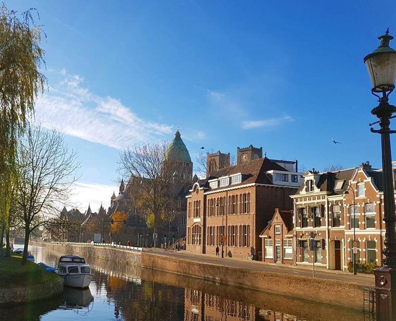 Красивые города Нидерландов: пейзаж Харлема