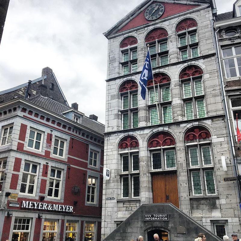 Красивые города Нидерландов: красивая архитектура Маастрихта