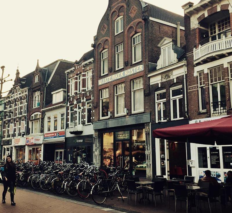 Красивые города Нидерландов: улица Неймегена