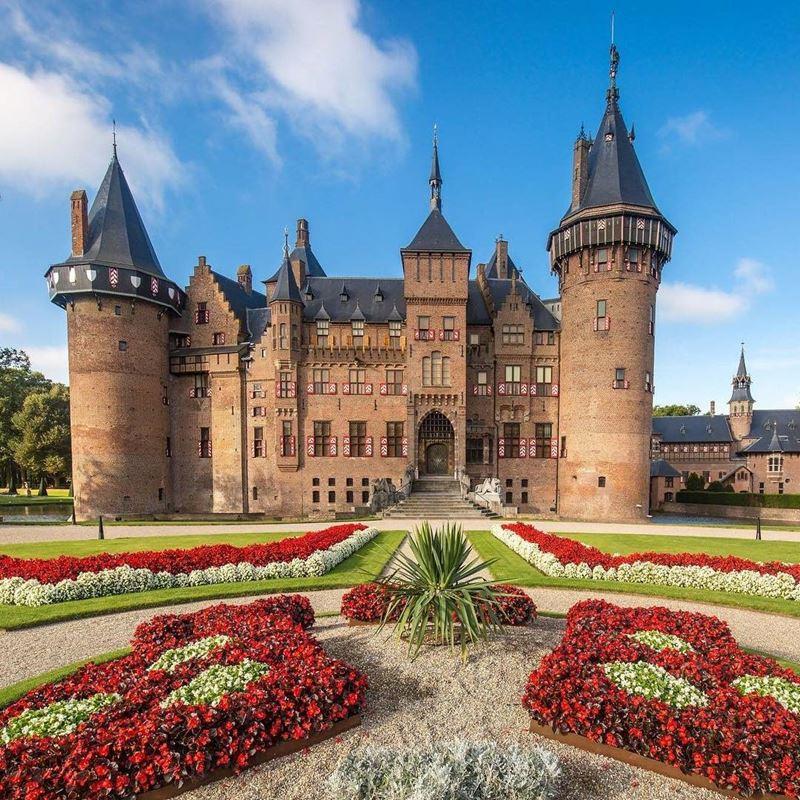Красивые города Нидерландов: замок де Хаар