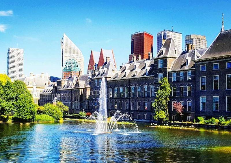 Красивые города Нидерландов: Бинненхоф в Гааге