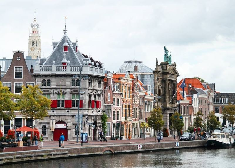 Красивые города Нидерландов: архитектура Харлема