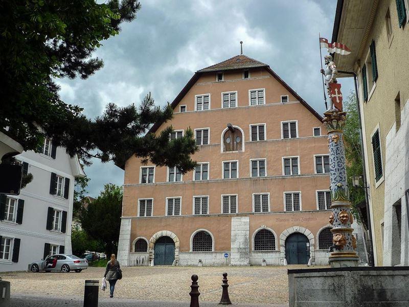 Красивые города Швейцарии: архитектура Золотурна