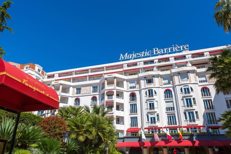 Средиземноморская зима в Hotel Barrière Le Majestic Cannes