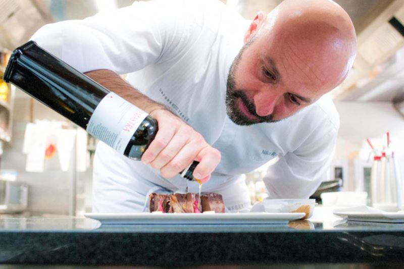 Il Ristorante Niko Romito - шеф-повар Нико Ромито за работой