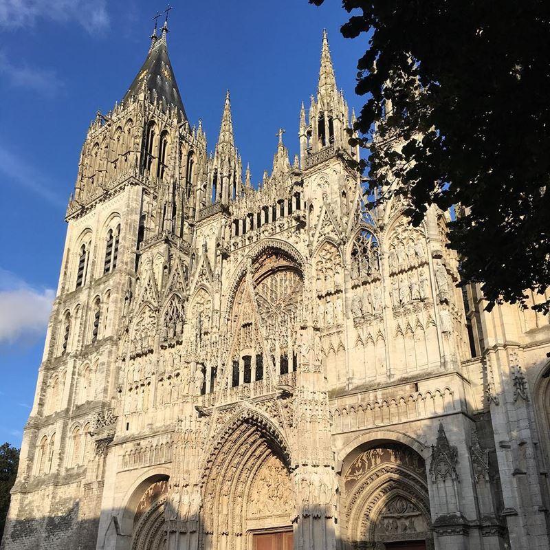 Крупные и красивые города Франции: Руанский собор