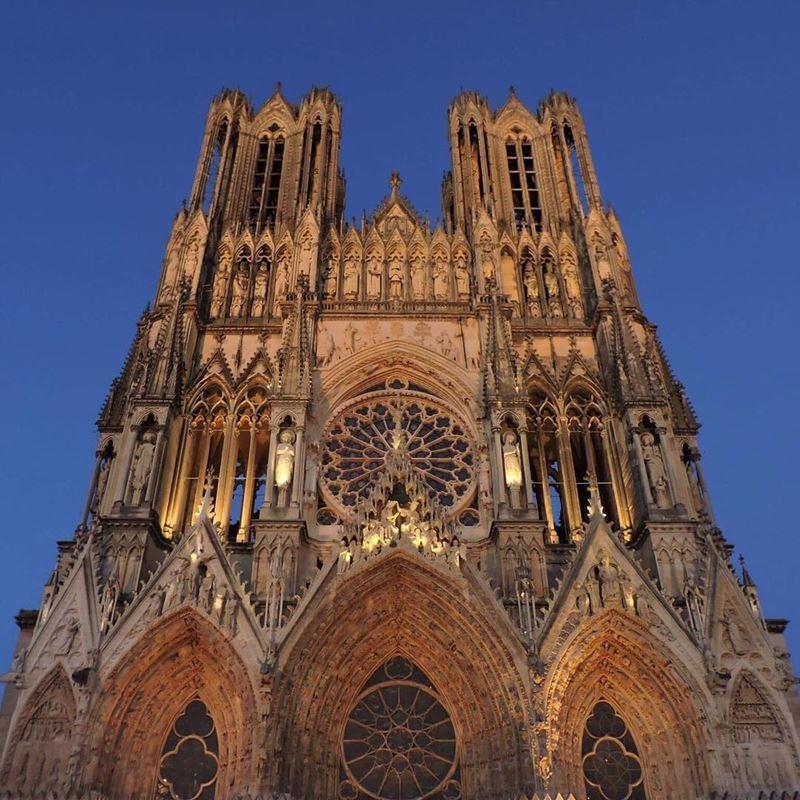 Крупные и красивые города Франции: Реймсский собор