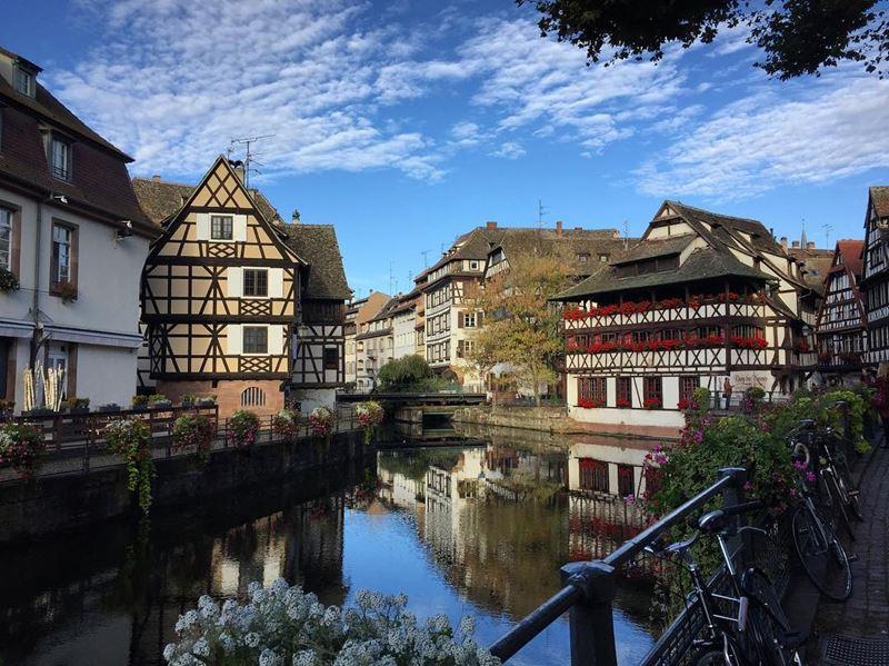 Крупные и красивые города Франции: квартал «Маленькая Франция» в Страсбурге