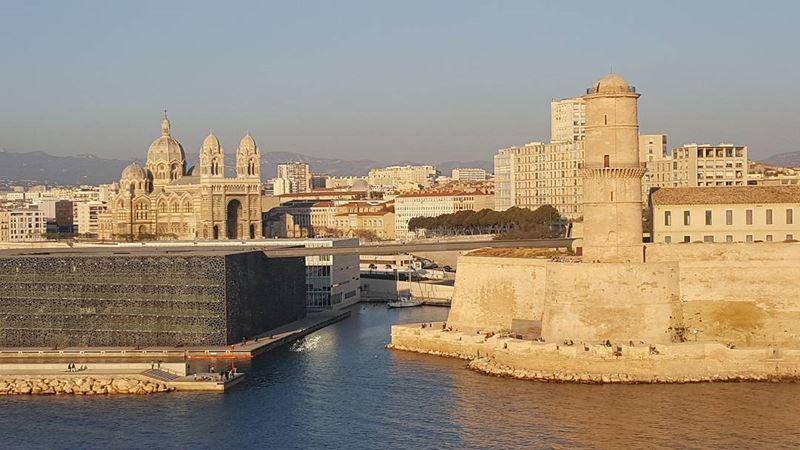 Крупные и красивые города Франции: Форт Сен-Жан (Форт святого Иоанна) в Марселе