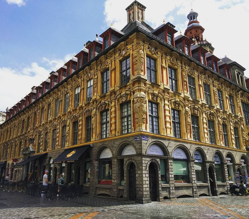 Крупные и красивые города Франции: архитектура Лилля
