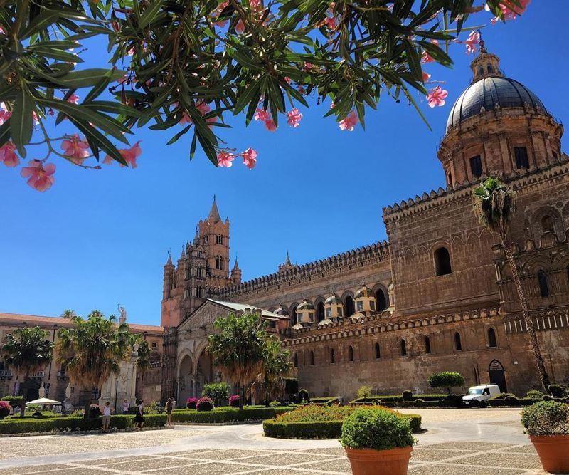 Крупные и красивые города Италии: Кафедральный собор Палермо