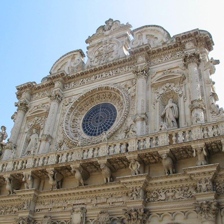 Крупные и красивые города Италии: базилика Санта-Кроче в Лечче