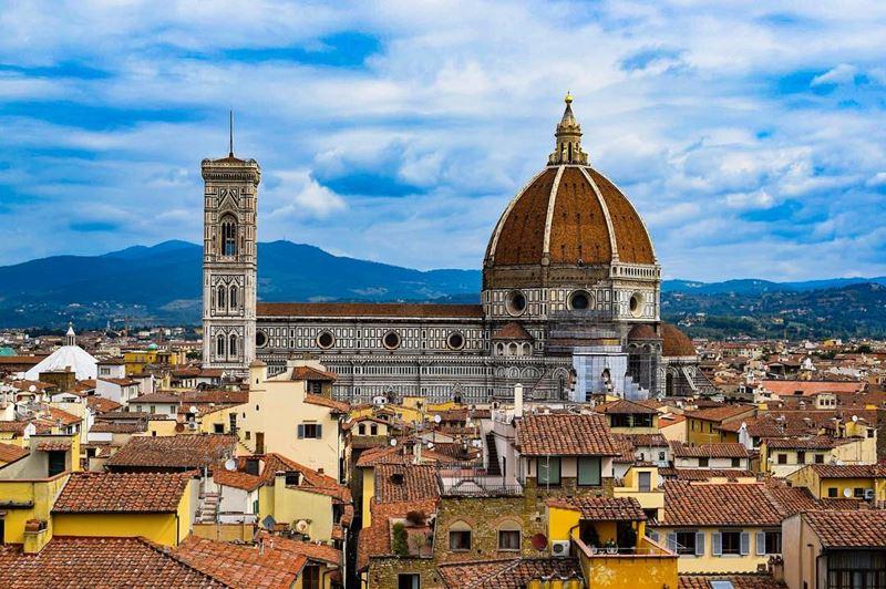 Крупные и красивые города Италии: Санта-Мария-дель-Фьоре