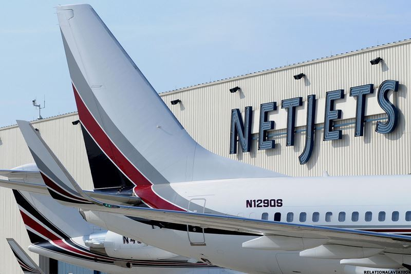 Авиакомпания NetJets