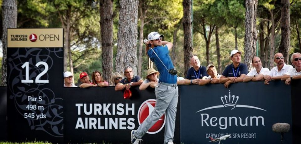 Regnum Carya Golf & Spa Resort примет турнир The Turkish Airlines Open 2017