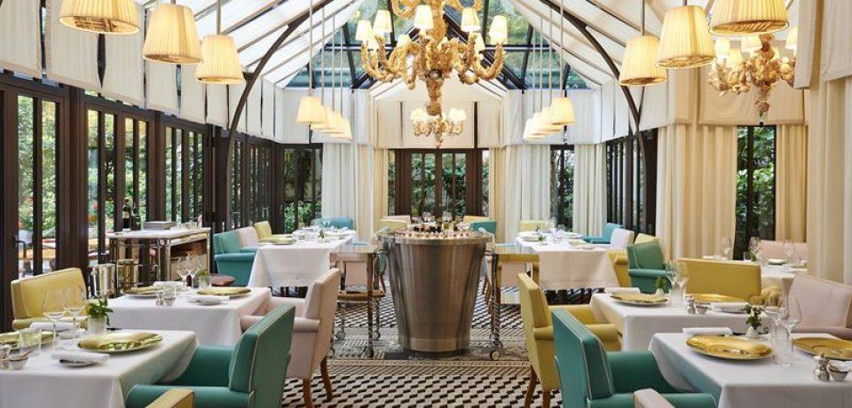 Мишленовский завтрак в Il Carpaccio отеля Le Royal Monceau-Raffles Paris