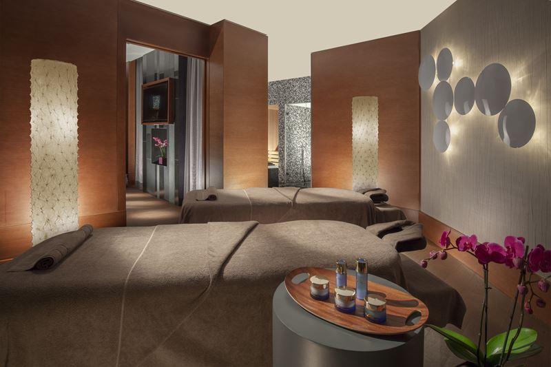 Royal Savoy Hotel & Spa Lausanne - спа-пространство для парного массажа