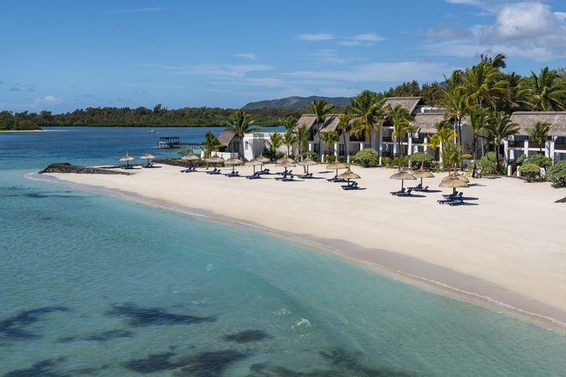 Shangri-La's Le Touessrok Resort & Spa - песчаное побережье