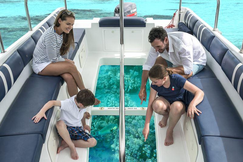 «Зачарованный остров» от Shangri-La's Villingili Resort & Spa - семейная прогулка на яхте