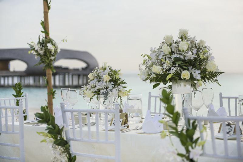Свадьба на курорте St. Regis Maldives Vommuli Resort - незабываемые впечатления
