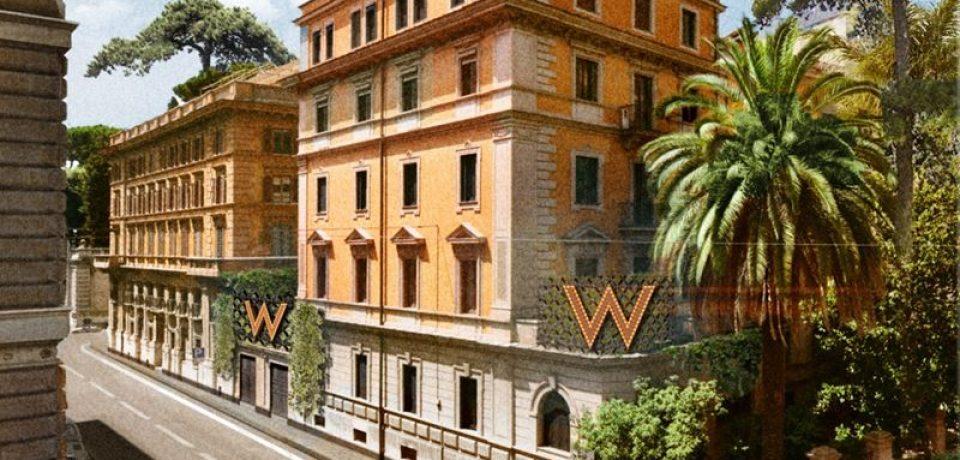 Marriott откроет в Риме первый в Италии отель W
