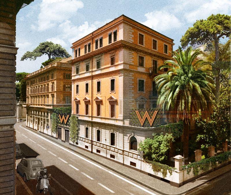 Marriot откроет в Риме первый в Италии отель W