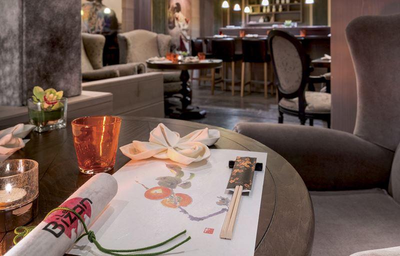 Grandes Alpes Private Hotel & Spa - Le Bizan - ресторан японской кухни