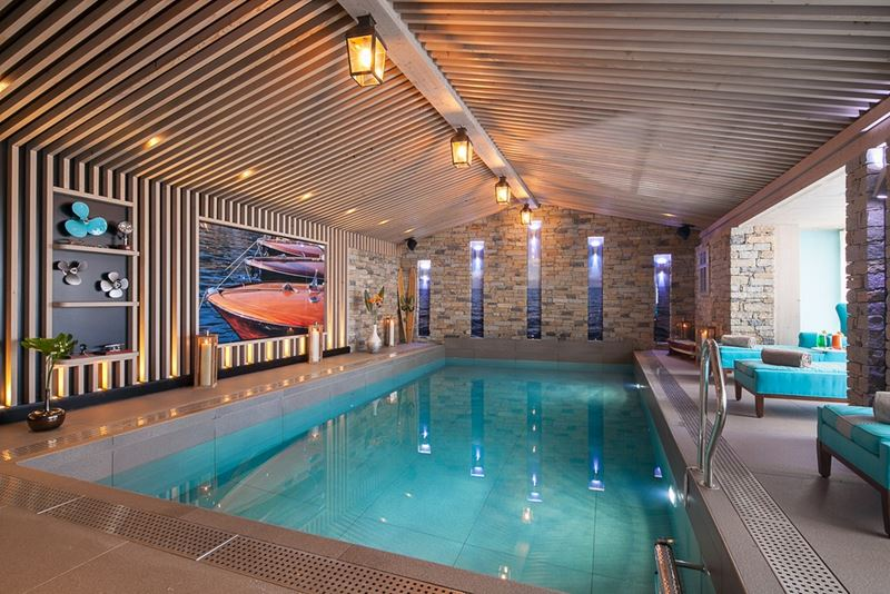 Les Grandes Alpes Private Hotel в Куршевеле - спа-центр SPA by Valmont