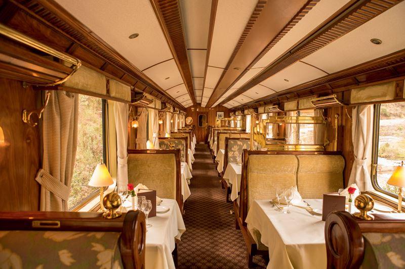 Поезд Belmond Hiram Bingham