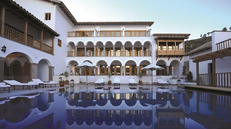 Отель Belmond Palacio Nazarenas в Куско