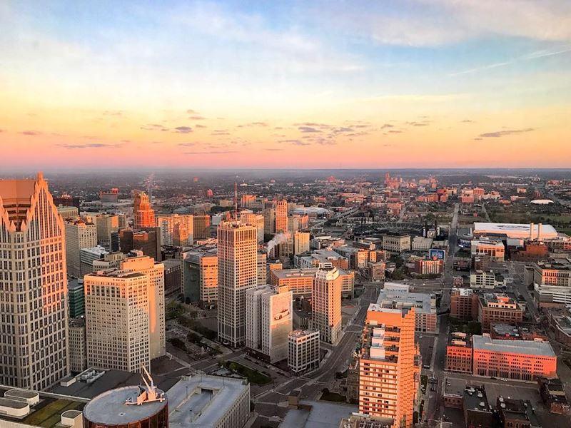 Города мира, которые надо посетить в 2018 - Детройт (США)