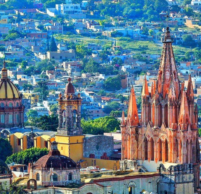 Города мира, которые надо посетить в 2018 - Гуанахуато (Мексика)