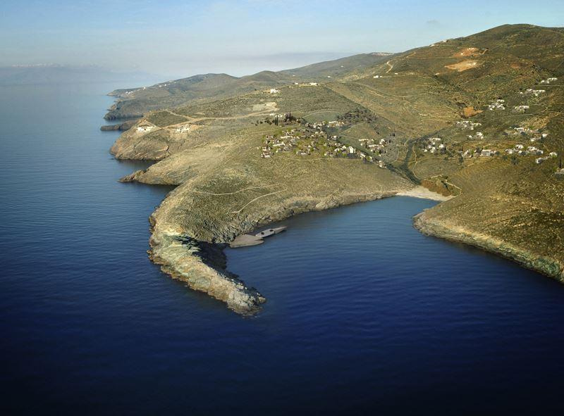 Остров Кеа архипелага Киклады в Греции
