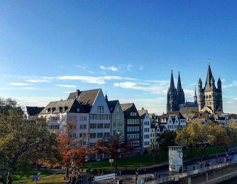 Крупные и красивые города Германии - Архитектура Кёльна