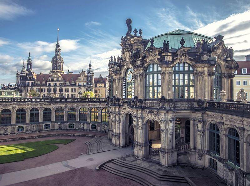 Крупные и красивые города Германии - Дрезден - галерея
