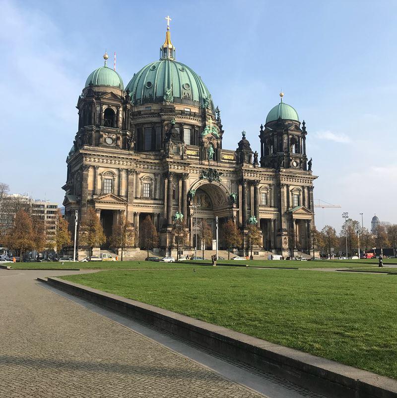 Крупные и красивые города Германии - Берлин - кафедральный собор